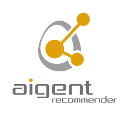 Web接客ツールであるアイジェントレコメンダーのロゴ-AI・人工知能をベースに開発した製品・ソリューション・サービスの比較・検索・資料請求プラットフォーム