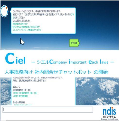 チャットボットソリューション CB1 / CB2ををNDIソリューションズ株式会社に導入した事例_AI・人工知能製品ソリューション