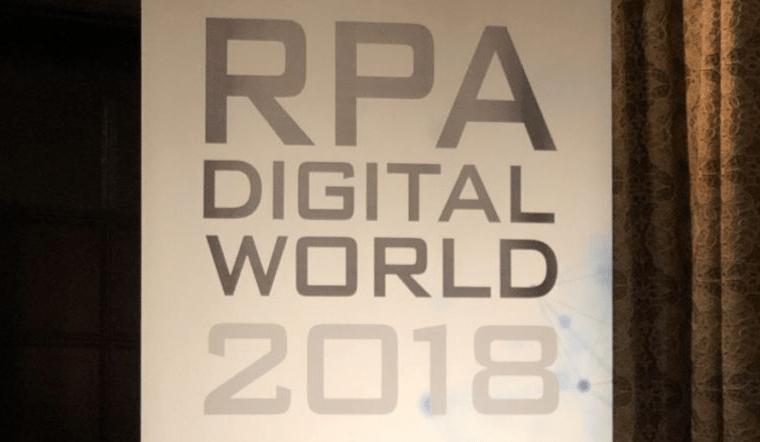 RPA-DIGITALWORLD2018|チャットボットやWeb接客・RPA等のAI・人口知能製品・サービスの比較・検索・資料請求メディア