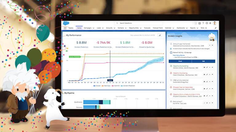 Sales Cloud EinsteinのAIによって、世界No.1のCRMが、世界で最もインテリジェントなCRMに|AI・人工知能製品・サービス・ソリューション・プロダクト・ツールの比較一覧・導入活用事例・資料請求が無料でできるメディア