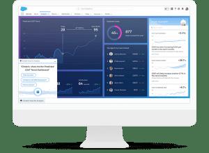 Einstein AnalyticsはAIを搭載した分析プラットフォーム Einstein Analyticsでデータを自動で分析、予測
