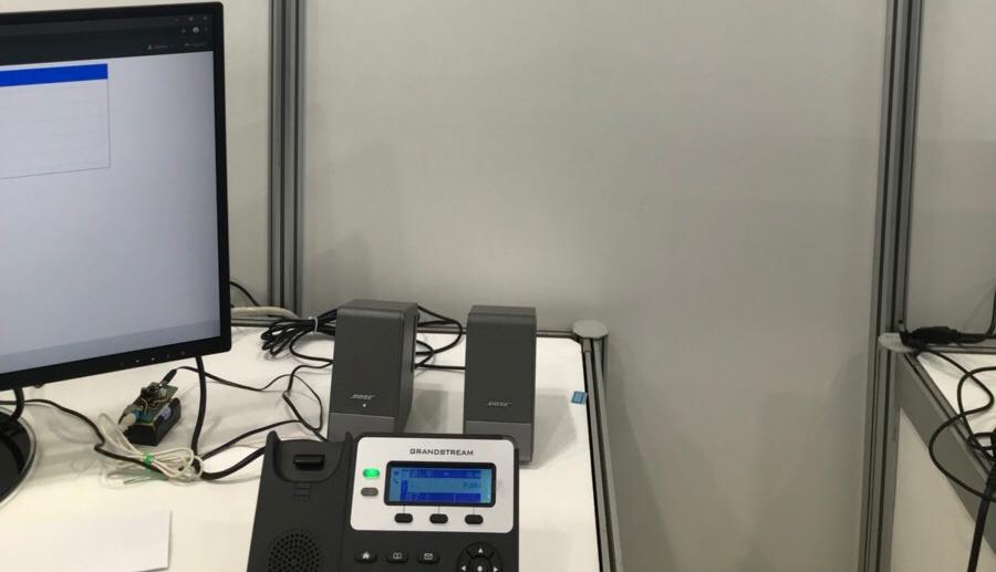 シャープ株式会社の音声認識システム音声自動応答(IVR)電話機