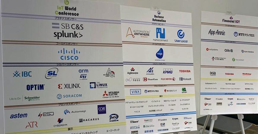 「Business Automation 2019」「IoT World Conference 2019」「金融ICT 2019」の3つのイベントが同時に開催|人工知能を搭載した製品・サービスの比較一覧・導入活用事例・資料請求が無料でできるAIポータルメディア