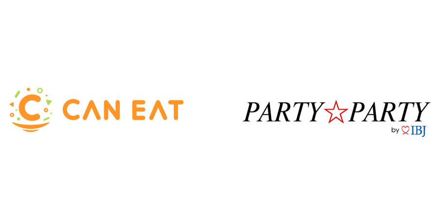 株式会社CAN EAT、PARTY☆PARTY ロゴ