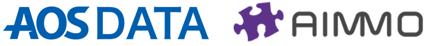 AOSDATAとAIMMOのロゴ