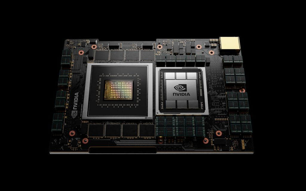 NVIDIA 新CPUイメージ画像