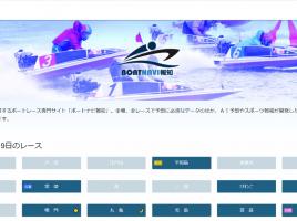 AIが「買い目」を紹介!ボートレース専門サイトをスポーツ報知がオープン