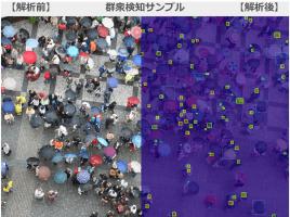 無料で群衆検知AIを使えるデモサイトをフューチャースタンダードが公開